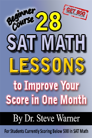SAT Prep Book Math Lessons