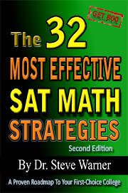 SAT Prep Book 32 Math Strategies