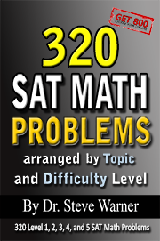 SAT Prep Book 320 Math Problems