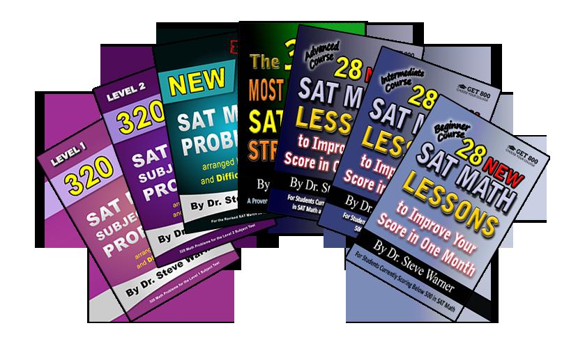 Get 800 SAT Math Prep Books
