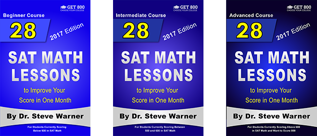 28 SAT Math Lessons