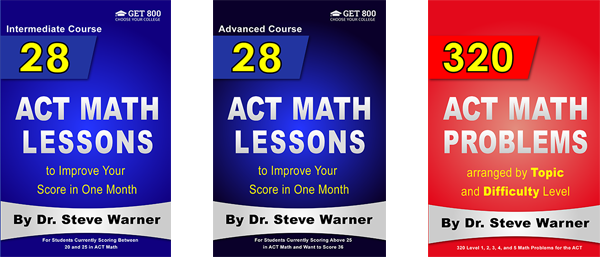 ACT Math Books